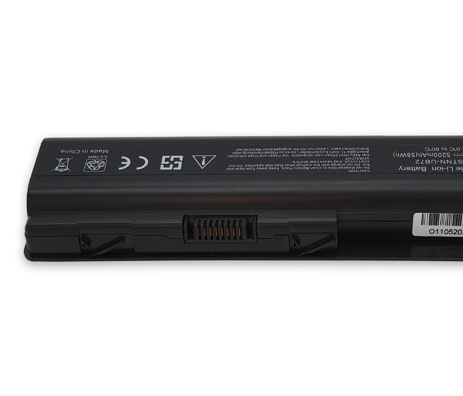 Batteria per Hp CQ40-535 DV5-1080EH CQ61-315SA DV6-2000 da 5200mAh 0109