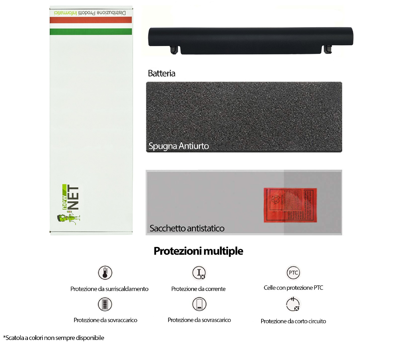 BATTERIA PER ASUS A41 X550 A450C P450V A41-X550 A41-X550A A550C  2600MaH 0970